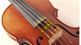 Cách thay dây Violin