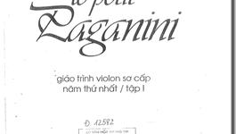 Giáo trình violin sơ cấp 1 - Ernest Van De Velde