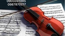 Nhận dạy Violin tại nhà Quận 3