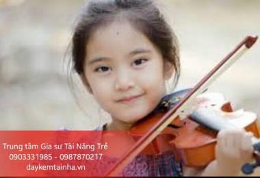 Lợi ích khi cho trẻ học đàn Violin
