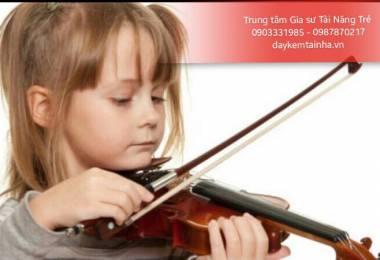 Những điều cần lưu ý khi cho bé học đàn Violin