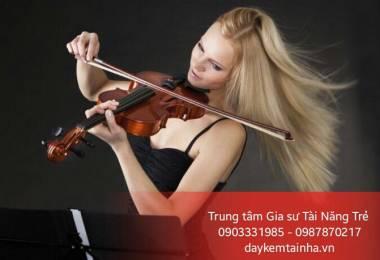Những tác dụng tuyệt vời khi chơi đàn Violin