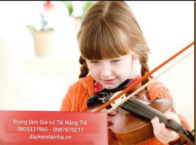 Nhận dạy đàn Violin tại nhà