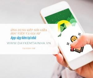 App dạy kèm tại nhà